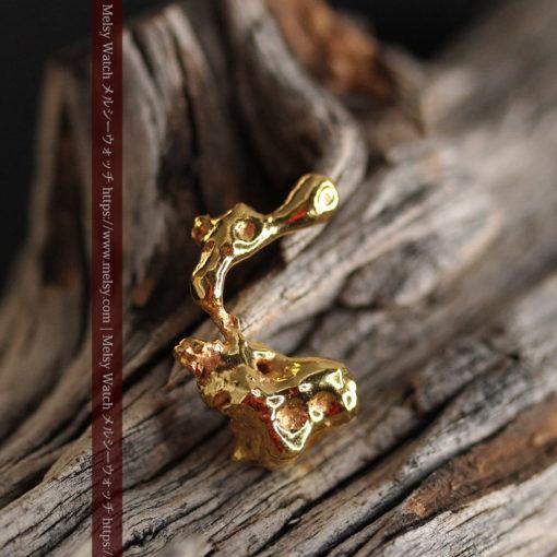 4.18gの個性的なアヒルのような形の磨かれた自然金-G0415-2