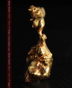 4.18gの個性的なアヒルのような形の磨かれた自然金-G0415-6