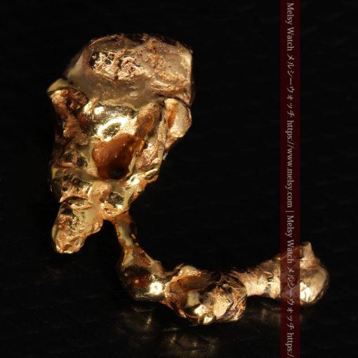 4.18gの個性的なアヒルのような形の磨かれた自然金-G0415-7