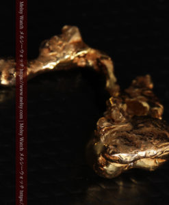 4.18gの個性的なアヒルのような形の磨かれた自然金-G0415-9