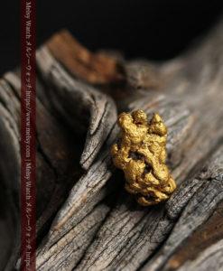 2.22gの亀の手のような形の自然金-G0419-13