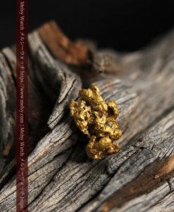 2.22gの亀の手のような形の自然金-G0419-14