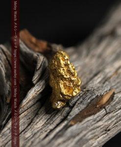 6.28gのキラキラと煌めく輝きの自然金-G0420-14