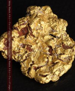 12.32gの色や模様など多くの特徴ある表面の自然金-G0421-5