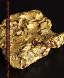 12.32gの色や模様など多くの特徴ある表面の自然金-G0421-8