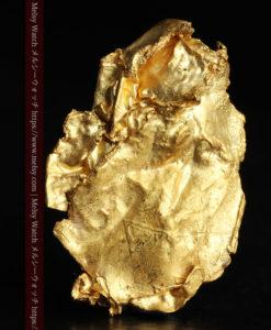 1.08gの非常に薄くかつ大きな面の希少な薄片金・自然金-G0422-1