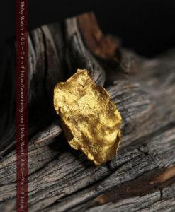 0.97gのクラッチバッグのような形をした薄片金・自然金-G0424-2
