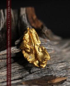 1.47gのパイ生地のような層になった薄片金・自然金-G0425-1