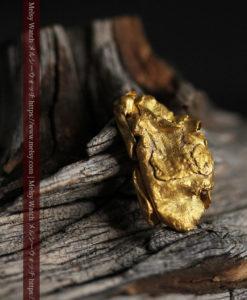 1.47gのパイ生地のような層になった薄片金・自然金-G0425-2