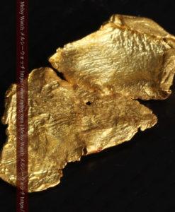 0.67gの非常に薄い面の大きな薄片金・自然金-G0426-12