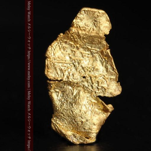 0.67gの非常に薄い面の大きな薄片金・自然金-G0426-2