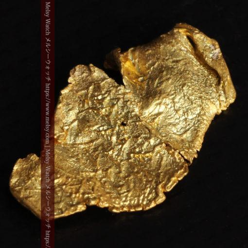0.67gの非常に薄い面の大きな薄片金・自然金-G0426-6