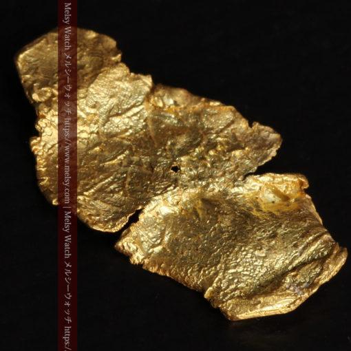 0.67gの非常に薄い面の大きな薄片金・自然金-G0426-7