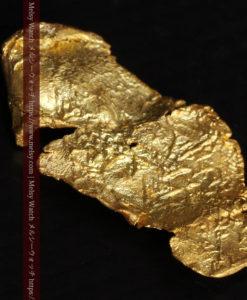 0.67gの非常に薄い面の大きな薄片金・自然金-G0426-9