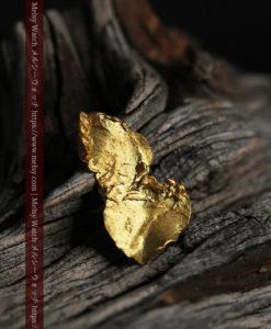 0.6gの靴のような形をした薄片金・自然金-G0428-1