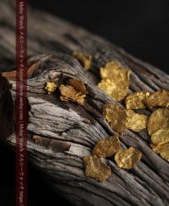 4.04gのやや粒の大きな薄片金・自然金18点-G0431-2