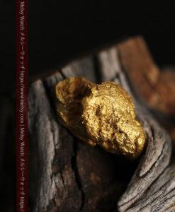 3.64gの凹凸の利いた個性的な形の自然金-G0435-1