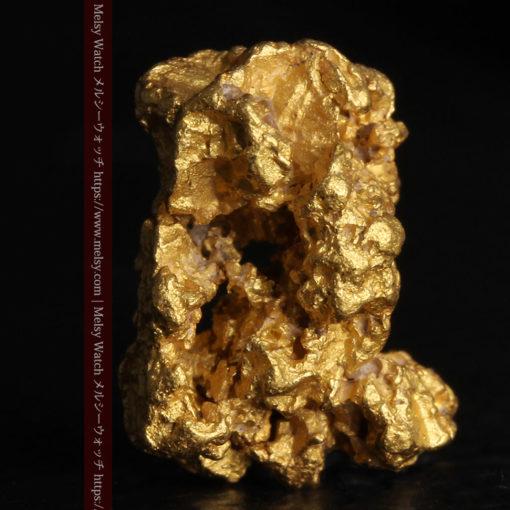 2.78gの凹凸と空間を楽しんで頂ける自然金-G0440-1