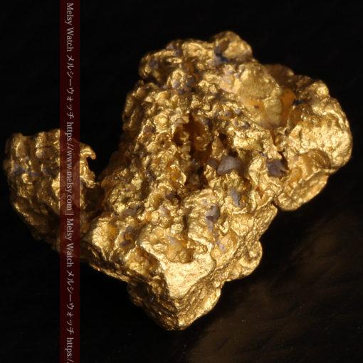 2.78gの凹凸と空間を楽しんで頂ける自然金-G0440-11