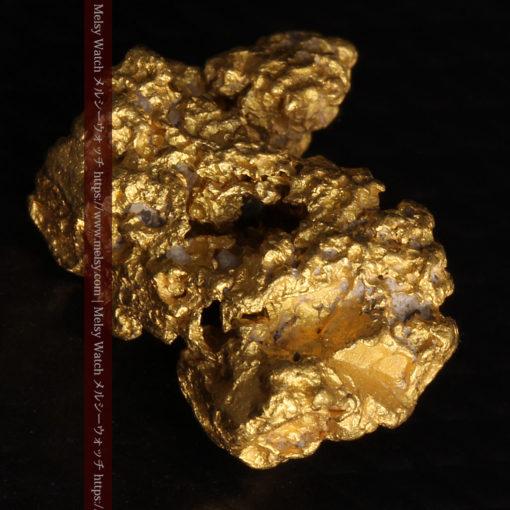 2.78gの凹凸と空間を楽しんで頂ける自然金-G0440-12