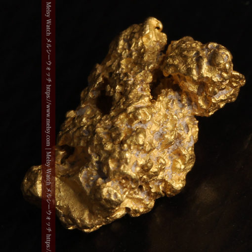 2.78gの凹凸と空間を楽しんで頂ける自然金-G0440-13