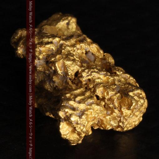 2.78gの凹凸と空間を楽しんで頂ける自然金-G0440-14