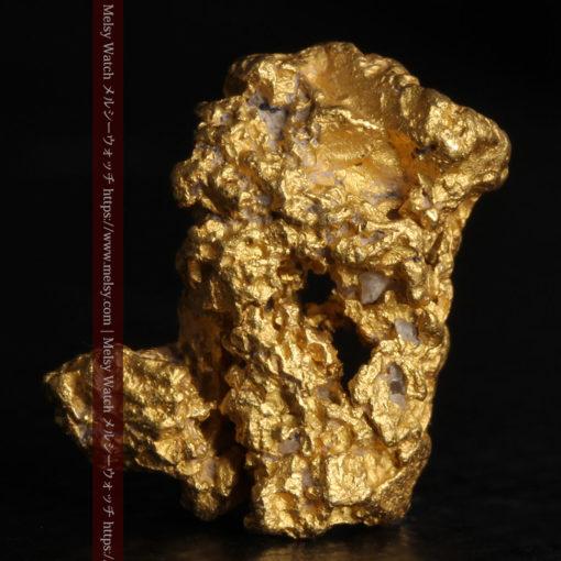 2.78gの凹凸と空間を楽しんで頂ける自然金-G0440-2