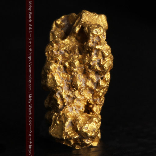 2.78gの凹凸と空間を楽しんで頂ける自然金-G0440-4