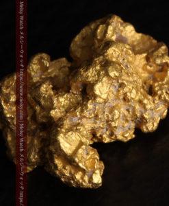 2.78gの凹凸と空間を楽しんで頂ける自然金-G0440-7