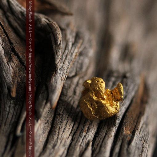 2.84gの天然の粗削りな美しさがある自然金-G0441-1