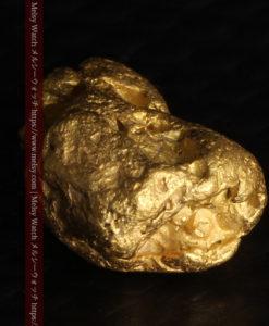 2.84gの天然の粗削りな美しさがある自然金-G0441-10