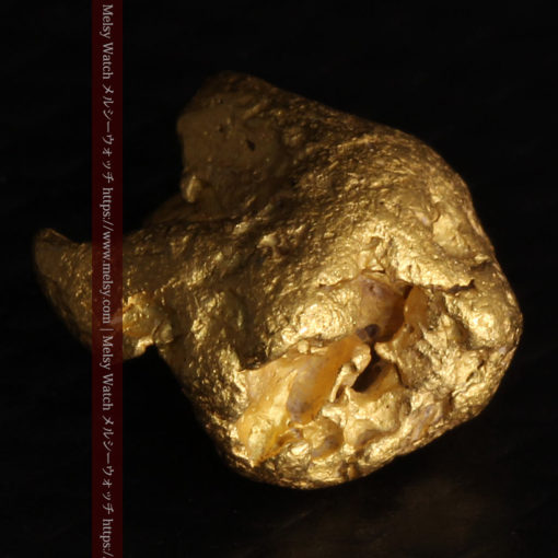 2.84gの天然の粗削りな美しさがある自然金-G0441-12