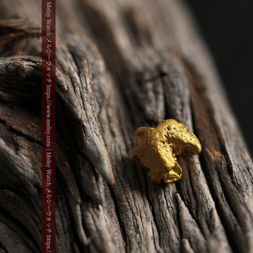 2.84gの天然の粗削りな美しさがある自然金-G0441-2