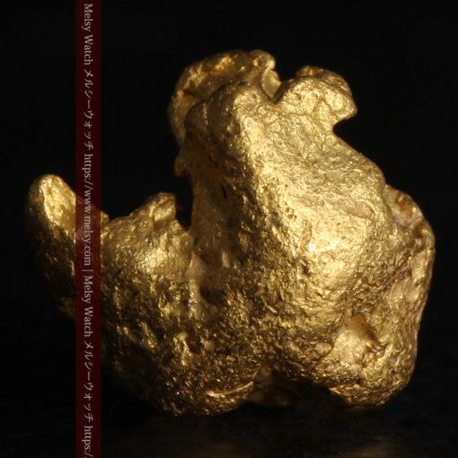 2.84gの天然の粗削りな美しさがある自然金-G0441-4