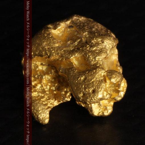 2.84gの天然の粗削りな美しさがある自然金-G0441-8